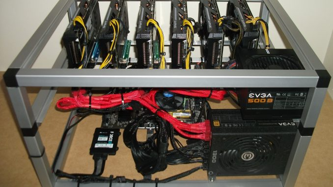cấu hình bộ máy đào eth, zec, etc hoàn chỉnh