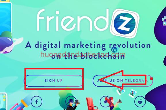 Hướng dẫn đăng ký tạo mới tài khoản với Friendz coin (FDZ)
