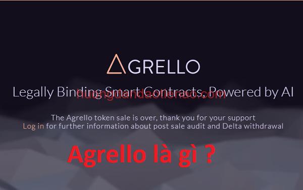 Agrello (DLT Coin) là gì?
