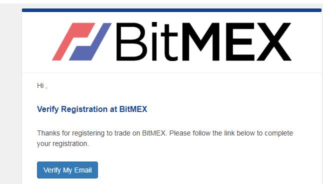 Đăng ký tài khoản Bitmex