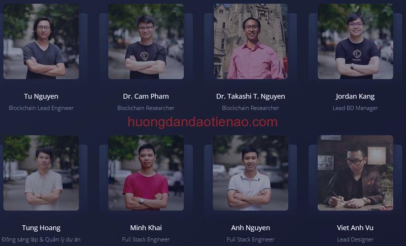 Team phát triển của Tomochain
