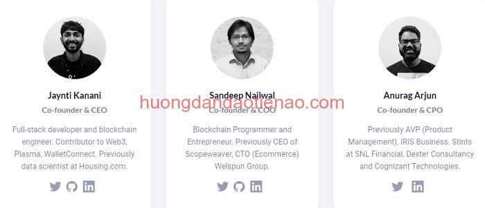Người sáng lập Matic Network